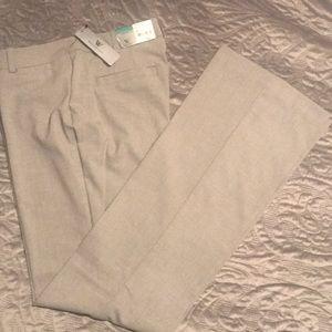 New Worthington Gray Curvy Tall Pants Size 8 Tall